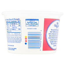 Friendship Cottage Cheese Nutrition by Hood Fat Free Cottage Cheese With Pineapple Nutrition Facts