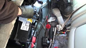cadillac cts battery location 02 battery install