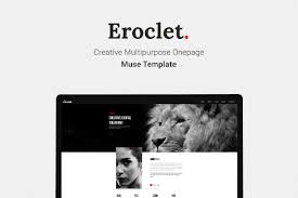 free muse template eroclet creative muse template free design resources