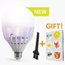 bug repellent light bulbs amazon com mosquito lure led bug bulb zaps and kills light bulb