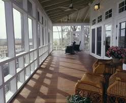 atlanta screen porch panels farmhouse with exposed rafters