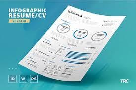 Infographic Resume Template Infographic Resume Bundle Resume Templates Creative Market