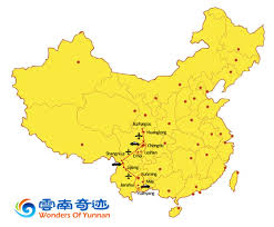 Chengdu China Map by 15 Days Yunnan And Sichuan Tour Wonders Of Yunnan Travel