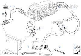 cooling system water hoses bmw 3 u0027 e46 318i m43 europe