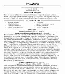 Lead Pharmacy Technician Resume Best Pharmacy Technician Resume Example Livecareer