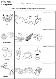 food worksheets 28 templates worksheets and food on food and