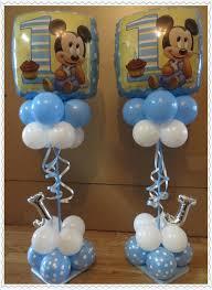 mickey mouse balloon arrangements mickey 1st birthday baby mickey birthdays baby