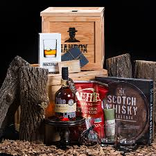 high class whiskey whisky treasures gift crate manbox