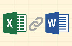 how to link to and embed excel files in word documents