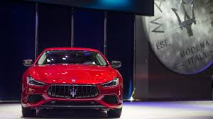 maserati ghibli red interior maserati ghibli granlusso lightly updated for chinese debut