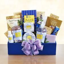 lavender gift basket essence of luxury bath gift basket hayneedle