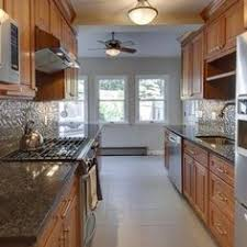 Small Galley Kitchen Designs Contemporary Galley Kitchen Designs I Like The Cabinet Over The