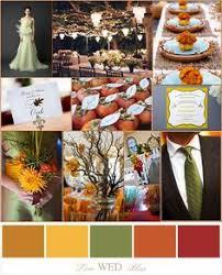 wedding color ideas fall fall wedding ideas1