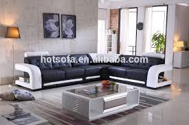 Living Room Furniture Corner Sofa Set Designs Genuine Leather - Corner sofa design