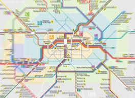 Network Map Network Maps Vbb Alles Ist Erreichbar