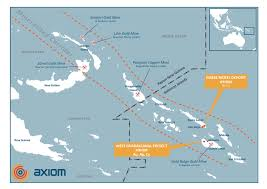 Guadalcanal Map Our Projects Axiom Mining