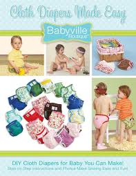 Cloth Diaper Starter Kit Amazon Com Babyville Boutique Cloth Diapers Made Easy Book Arts