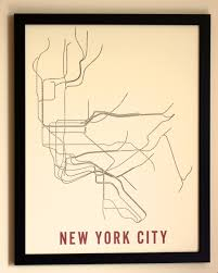 New York Underground Map by New York Subway Map Poster My Blog
