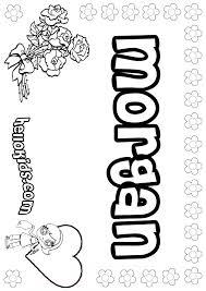 morgan coloring pages hellokids com