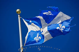 Blue And White Flag Cross Free Wallpaper Background Province Of Quebec Flag Canada