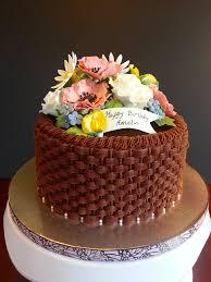 Christmas Cake Decorations Flowers by Best 25 Basket Weave Cake Ideas On Pinterest Cake Basket