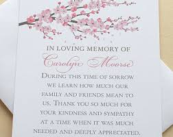 bereavement thank you cards bereavement thank you cards with purple or colored