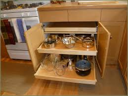 Cabinet Organizers Pull Out Cabinets U0026 Drawer Free Standing Kitchen Pantry Units Trash Bin