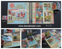 expandable scrapbook 104 best scrapbooking summer water pages images on