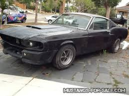 1964 ford mustang fastback for sale 1968 ford mustang fastback eleanor 17500 oceanside ca