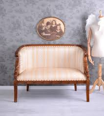 Ebay Chippendale Schlafzimmer Weiss Antik Sofa Polstersofa Mahagoni Sitzbank Vintage Kanapee Couch