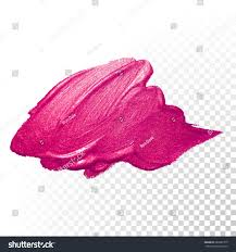 vector pink watercolor brush stroke varnish stock vector 382687315