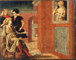 nicola di maestro antonio d u0027ancona scenes from the life of king