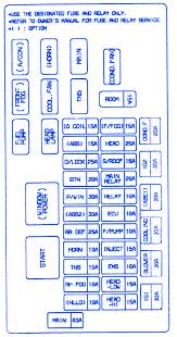peugeot 206 near 2003 accu fuse box block circuit breaker diagram