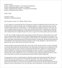 sample student reference letter 6 free documents in pdf