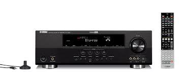 panasonic receivers home theater amazon com yamaha htr 6240bl 525 watt 5 channel home theater