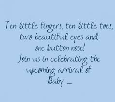 baby shower ideas saying baby shower quotes for cards note in
