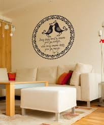 vinyl wall decal sticker lao tzu love quote os dc528
