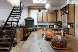 cuisine bois acier noir bois acier c0670 mires