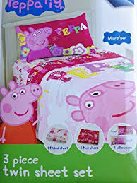 Peppa Pig Bed Set by Amazon Com Entertainment One