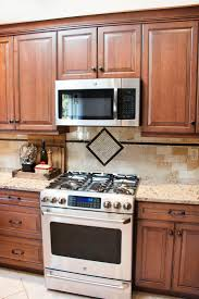 Brown Cabinets Kitchen 11 Best Kitchen Done Images On Pinterest Custom Cabinets