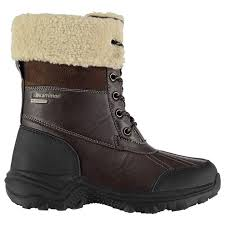 womens winter boots nz karrimor casual boots pull tab to heel faux fur trim