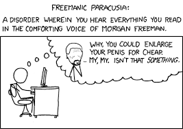 Know Your Meme Youtube - xkcd freemanic paracusia