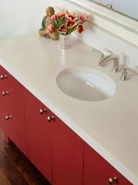 Concrete Bathroom Sink by Concrete Bathroom Countertops Hgtv