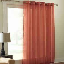 Burnt Orange Curtains Sale Furniture Grommet Curtains With Orange Curtain And Black Ceramic