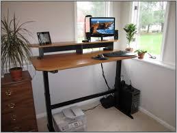 Diy Standing Desk by Diy Adjustable Standing Desk Conversion Desk Home Design Ideas