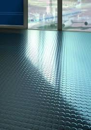 rolled rubber flooring pinteres