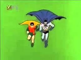 batman robin running