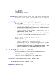 Management Consulting Resume Format Customer Service Consultant Cv Ctgoodjobs Powered By Career Times