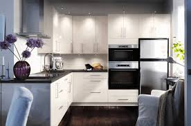 ikea kitchen white cabinets white ceramic floor tile with black
