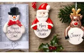 Cheap Personalised Christmas Decorations Christmas Season 30 Impressive Personalized Christmas Ornaments